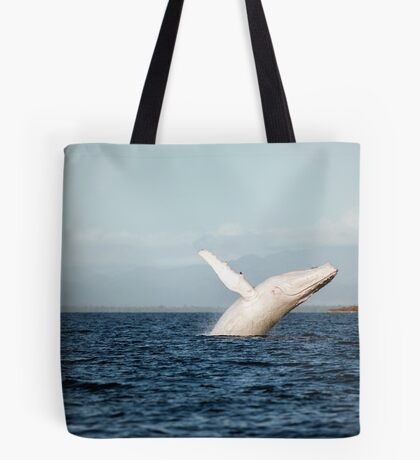 Show Off - Migaloo the white whale Tote Bag