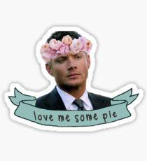 Dean Loves Pie Sticker