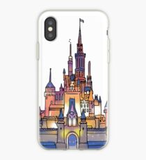 Watercolor Castle iPhone Case