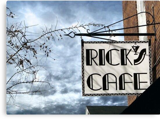 Rick's Cafe by Ellen Cotton