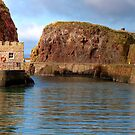The Harbourmaster's Office at Dunbar by Christine Smith