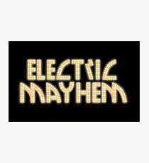 Electric Mayhem Photographic Print