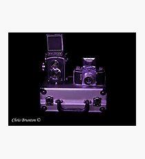 Lights, camera, action Photographic Print