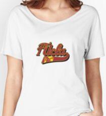 FUCLA Logo Women's Relaxed Fit T-Shirt