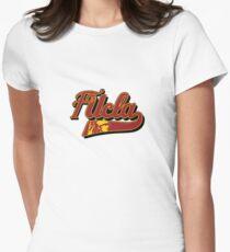 FUCLA Logo Womens Fitted T-Shirt