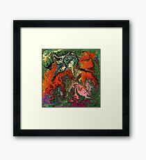 modern composition 22 by rafi talby Framed Print