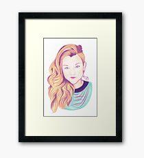 Natalie Framed Print