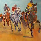 Racing Colours IV by christine purtle