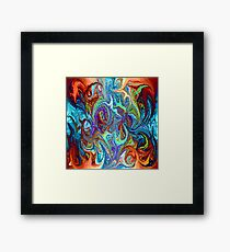 modern composition 24 by rafi talby Framed Print