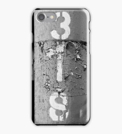 3IS black and white iPhone Case/Skin