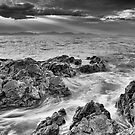 Bear Gully Rocks, Mono by Vicki Moritz