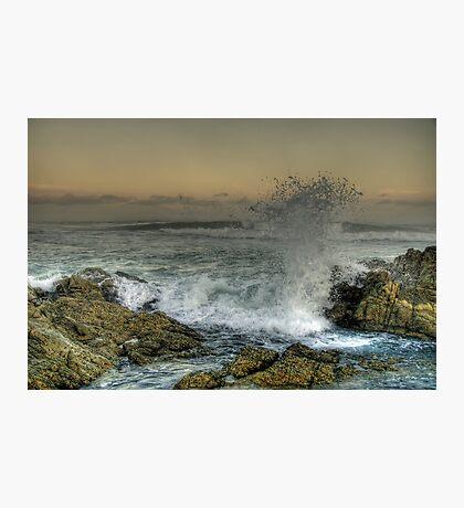 Moody Sea Photographic Print