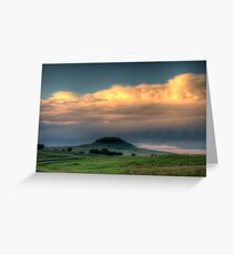 A Bump On The Landscape Greeting Card