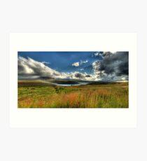 U-Bend Panoramic Art Print