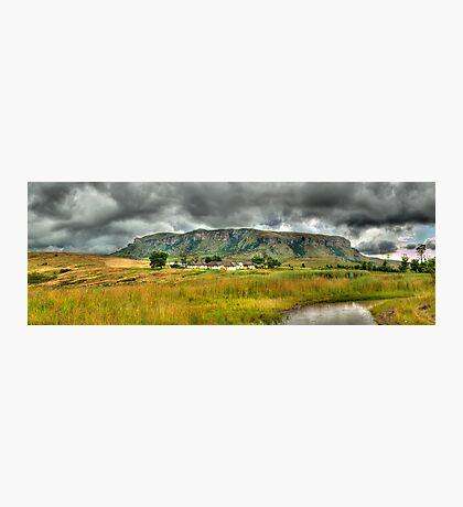 Colourful Community Panoramic Photographic Print