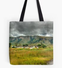 Colourful Community Panoramic Tote Bag