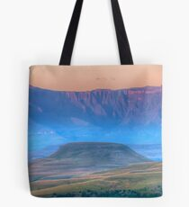 Early Misty Morn Tote Bag