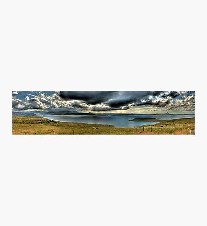 A River Thru The Berg Panoramic Photographic Print