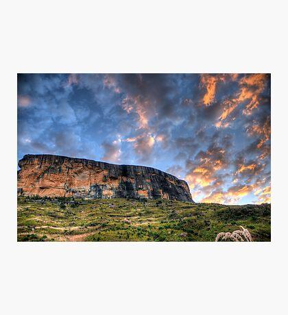 Tiger Falls Mountain Photographic Print