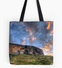 Tiger Falls Mountain Tote Bag