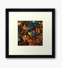 modern composition 26 by rafi talby Framed Print