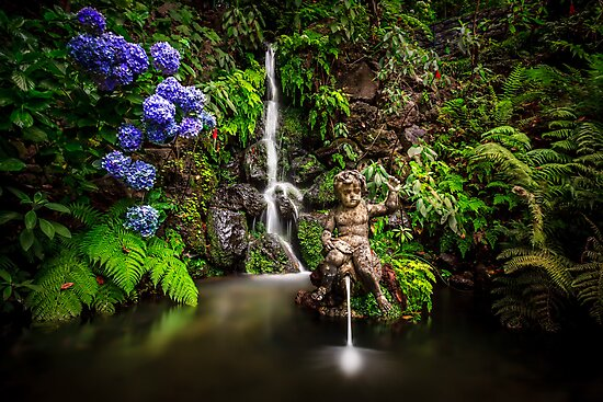 Monte Palace Gardens in Madeira by Zoltán Duray