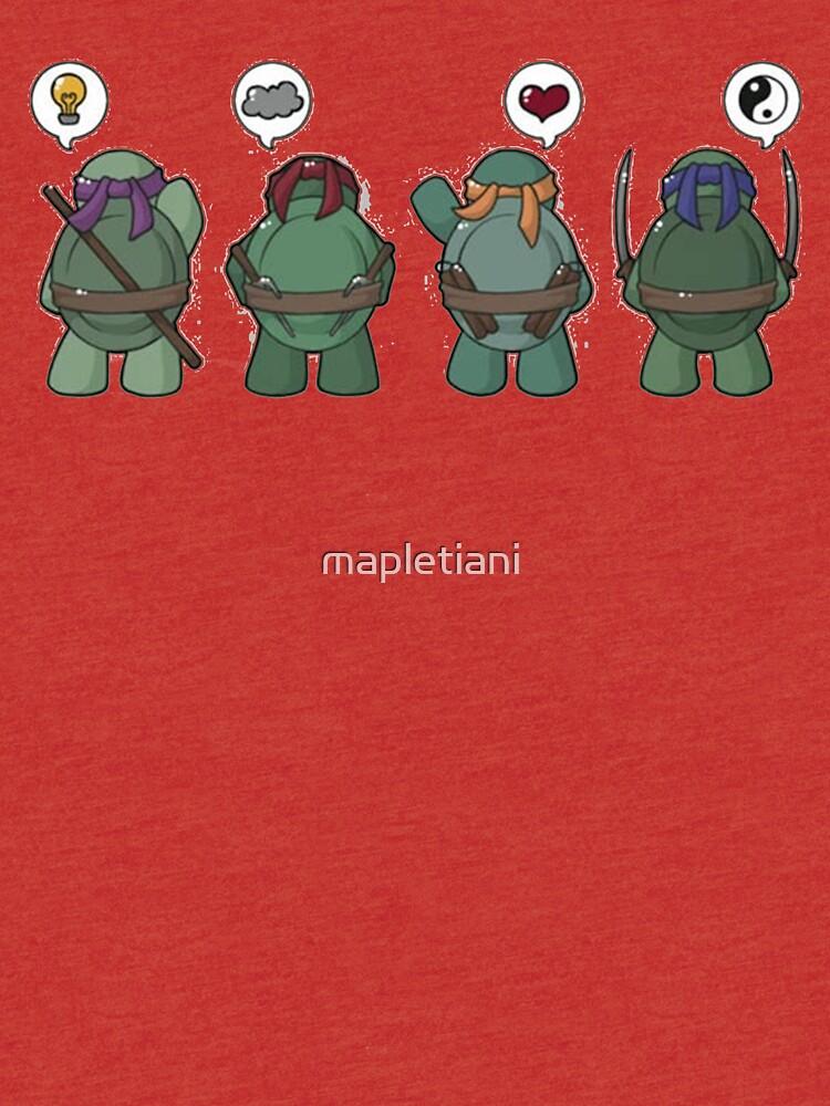 Tiny mutant ninja turtle de mapletiani