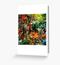 modern composition 27 by rafi talby Greeting Card