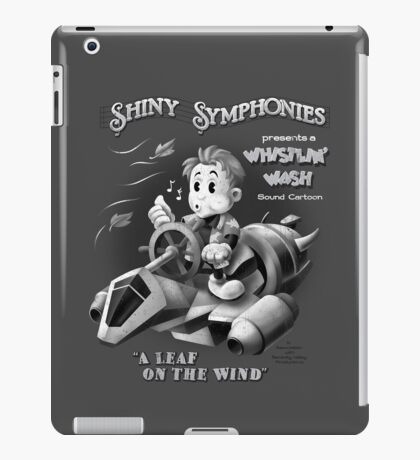 Shiny Symphonies: Whistlin' Wash iPad Case/Skin