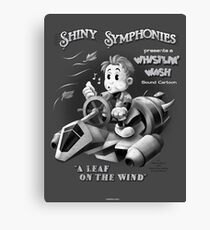 Shiny Symphonies: Whistlin' Wash Canvas Print