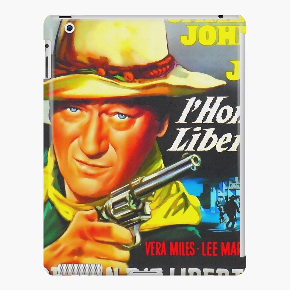 Belgian poster of The Man Who Shot Liberty Valance iPad-Hülle & Skin