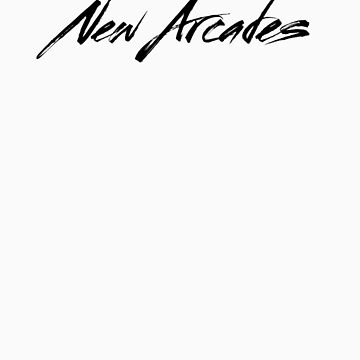 New Arcades - Logo (black text) by NewArcades