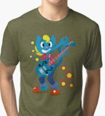KatyKat-Guitar Tri-blend T-Shirt