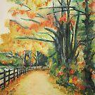 Autumn Trees by Kay Clark