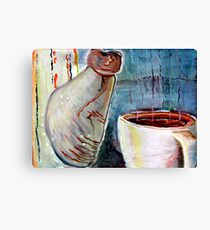 The Morning Cup Canvas Print