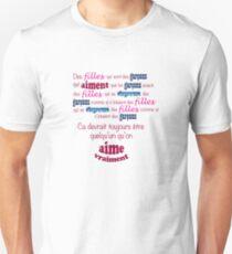 Blur - Girls and Boys (En Français!) T-Shirt