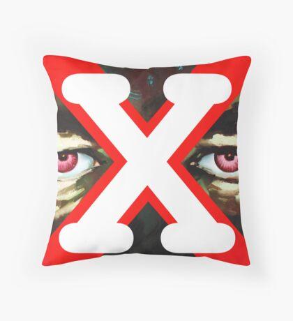 X Ray Eyes Throw Pillow