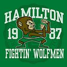 Hamilton Fightin' Wolfmen by popnerd