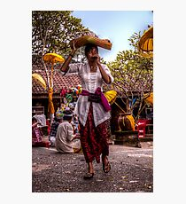 Balinese Lady Photographic Print