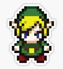 Pixel Link Sticker