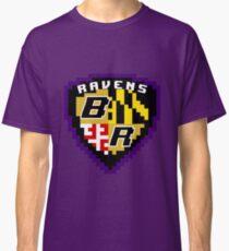 8Bit Ravens Coat of Arms Classic T-Shirt