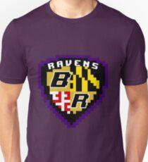 8Bit Ravens Coat of Arms T-Shirt