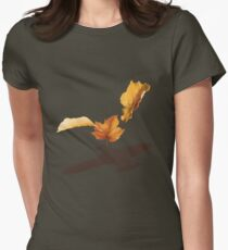 Leaf on the Wind Women's Fitted T-Shirt