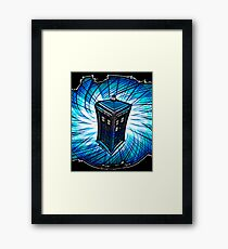 Dr Who - The Tardis Framed Print