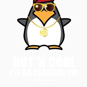 Hot and Cool, I'm da Paradox yo! - Hip Hop Penguin by Kokonuzz
