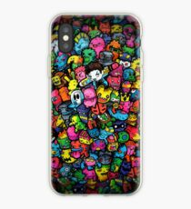 Doodle Monsters (iPhone & iPod) iPhone Case