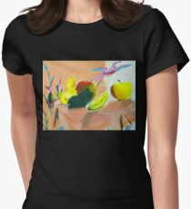 Fruitful Womens Fitted T-Shirt