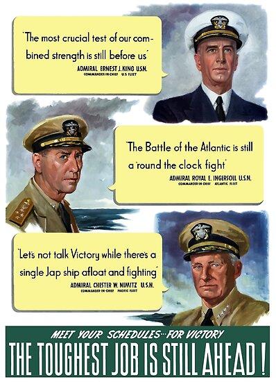 The Toughest Job Is Still Ahead -- WWII by warishellstore