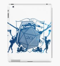 Dice 20 Coat of Arms iPad Case/Skin