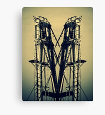Industrial Machinery Canvas Print